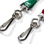 printed stock lanyards clip
